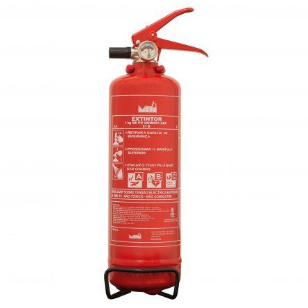 Extintor ABC 40% 1Kg 5A 21B C